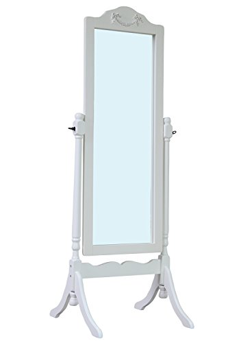 Offer cheap ttp furnish tp614 w standing mirror white for Cheap standing mirror