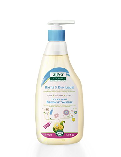 Lily Dish - Aleva Naturals Bottle and Dish Liquid, Water Lily, 16.9 fl.oz