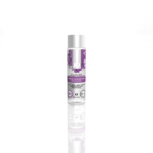 System Jo All in One SENSUAL Massage Oil Personal Lubricant Glide Sensual : Size 4 Fl Oz / 120 Ml.