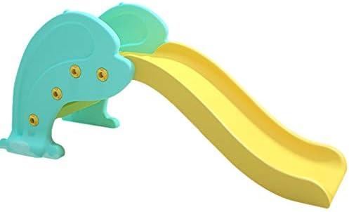 Tobogán De Delfines Juguete De Pequeño Tobogán Parque Infantil De Interior En Casa Tobogán De Plástico De Jardín Juguete De Combinación para Niños (Color : Blue, Size : 153 * 58 * 66.5cm): Amazon.es: Hogar