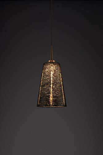 (Bruck Lighting 223843bz/MP Bling 2 LED Pendant with 4