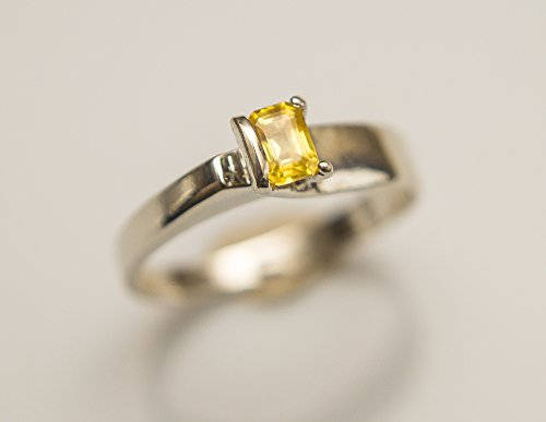 925-Sterling-SIlver-Yellow-Sapphire-Ring-Yellow-Ceylon-Sapphire