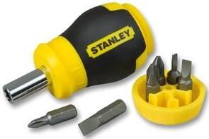 STANLEY 0-66-357 - Destornillador con 6 Puntas
