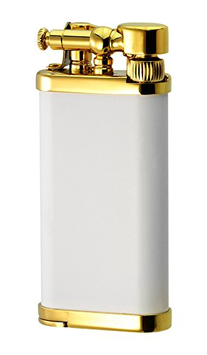 IM Corona Old Boy Gold/White Matte Pipe Lighter by IM Corona