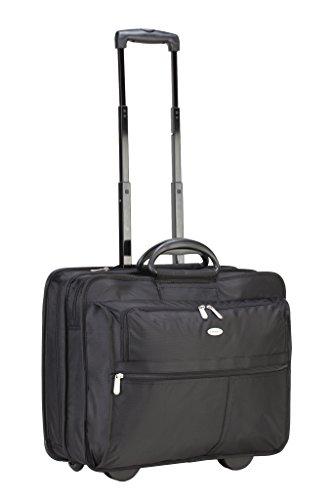 Targus XL Rolling Case Designed for 17-Inch Notebooks, Black - Targus Case Leather Notebook