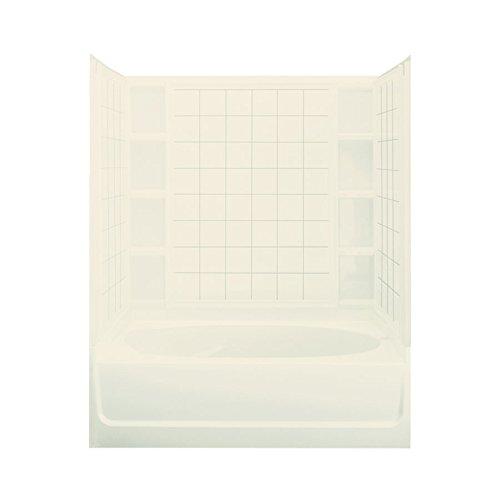 STERLING 71110118-96 Ensemble AFD Bath Tub and Shower Kit, 60-Inch x 42-Inch x 74.24-Inch, - Bathtub Afd