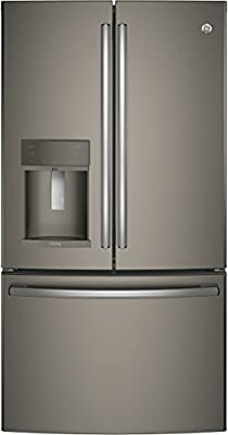 """GE Profile PFE28KMKES 36"""" Energy Star, ADA Compliant French Door Refrigerator with 27.8 cu. ft. Capacity"""