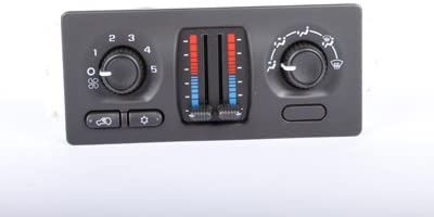 ACDelco 15-73499 GM Original Equipment Heating and Air Conditioning Control Panel