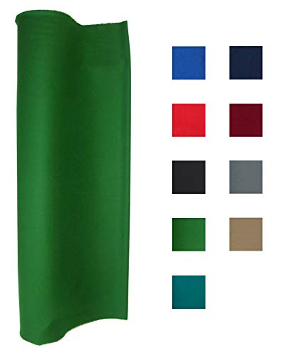 (Performance Grade Pool - Billiard Cloth - Felt Priced Per Foot English Green)