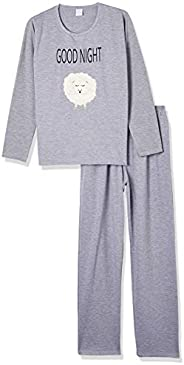 Conjunto de pijama PIJAMA ML COM CALCA/RF 040075 PZAMA Feminino