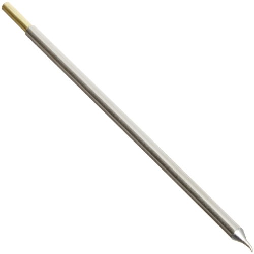 Soldering Tip Cartridge (Metcal STTC-826 STTC Series Soldering Cartridge for Ceramic and High Thermal Demand Applications, Conical Sharp Bent 30°, 0.4mm Tip Size, 7.9mm Tip Length)