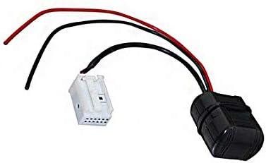 Semoic Car Module Music 12-Pin Auxiliary Receiver Aux Audio For 3 Series E90 E92 E93 E91