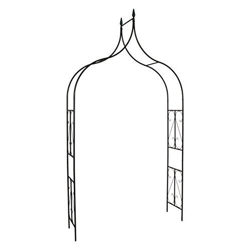 Better Garden Gothic Steel Garden Arch, 8'10