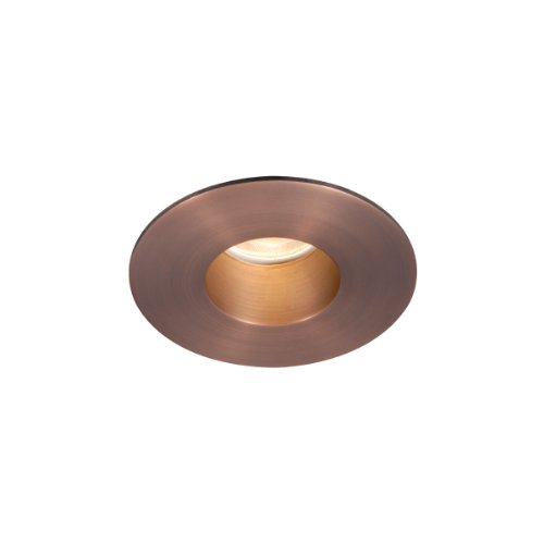 WAC Lighting HR-2LED-T209N-C-CB LED 2-Inch Recessed Downlight Shower Round Trim with 26-Degree Beam Angle, Copper Bronze Finish by WAC Lighting