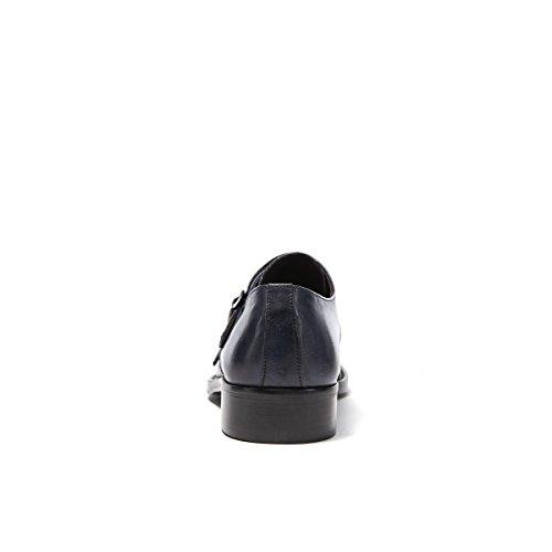 Venta Barata De Pago Con Paypal Comprar Barato En Línea British Passport Scarpa Stringata Francesina con Decorazione Toe cap di Colore Blu. Toe cap Monk Strap Navy. Uomo. Precio Más Bajo Para La Venta 2018 Unisex Para La Venta 9DArAv