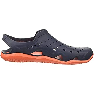 Crocs Men's Flat Closed Toe Sandals