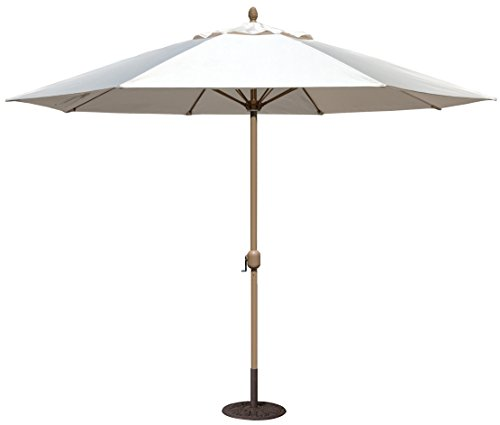 Cheap Tropishade 11′ Sunbrella Patio Umbrella Antique White Cover