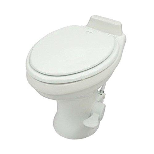 Dometic 320 Series Low Profile Toilet w/ Hand Spray, White