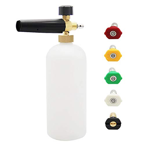 Twinkle Star Foam Cannon 1 L Bottle Snow Foam Lance With 1/4