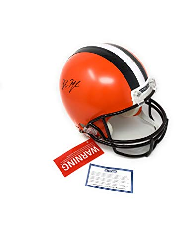 Baker Mayfield Cleveland Browns Signed Autograph Full Size Proline Authentic Helmet Steiner Sports Certified from Mister Mancave