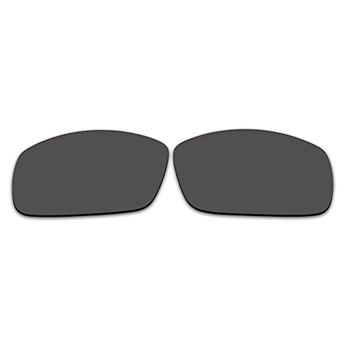 Polarized Replacement Sunglasses Lenses for Spy Optic Logan - Gray Mirror
