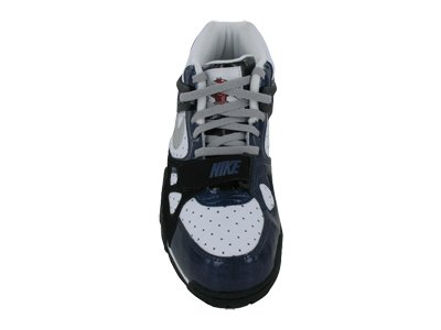 20c0d91f45b5b Amazon.com | Nike Air Trainer 3 (GS) III White/Blue Kids ...