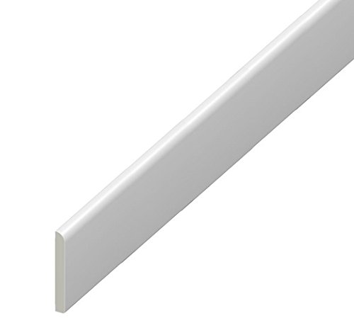 45mm uPVC Plastic Skirting Architrave Trim - Door Frame Kit - 10 Pack Eurocell