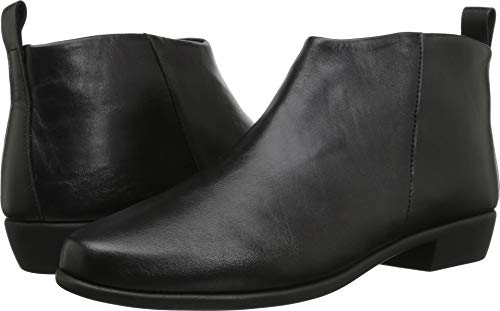 Aerosoles Ladies Shoes (Aerosoles Women's Step It Up Boot, Black Leather, 7 M US)