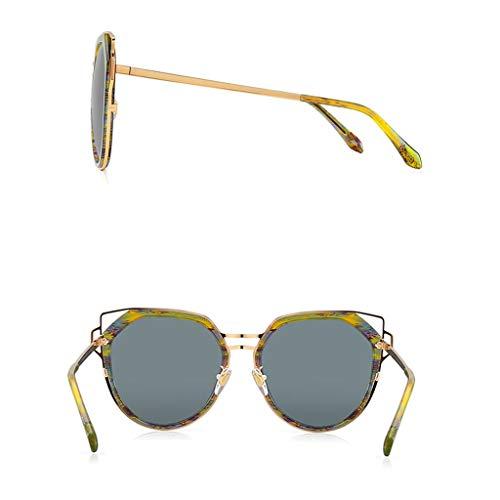 pour Femme Soleil Nylon Metal soleil Lens B Cat's de Lunettes de Metal Femme lunettes Eye polarisées Des Couleur C Sport qt0ZP0w