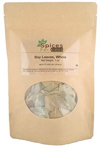 SFL Bay Laurel Leaves, Whole - Kosher Certified (1 oz) ()
