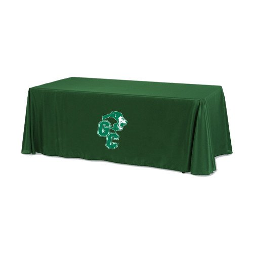 Greensboro Dark Green 6 foot Table Throw 'Official Logo' by CollegeFanGear