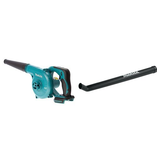 Makita DUB182Z 18V LXT Lithium-Ion Cordless Blower (Bare Tool Only) with Long Blower Nozzle Attachment