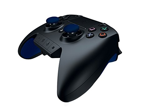 Razer Raiju - Next-Gen Premium Gaming Controller for PlayStation 4 - Fully-Programmable Hyper-Responsive Buttons, Blue by Razer (Image #4)