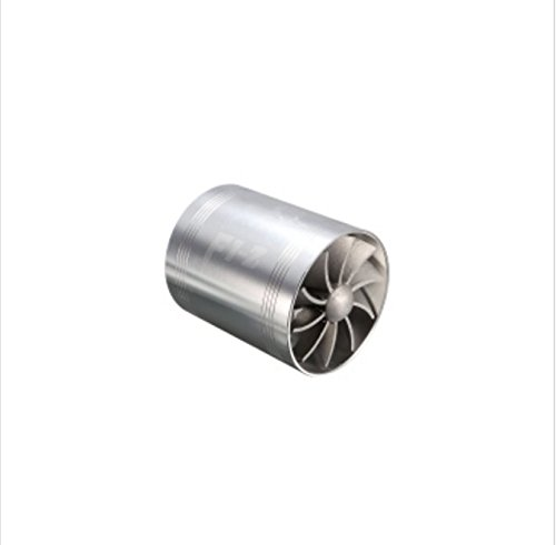 YONGYAO Universal Car Turbo Supercharger Air Intake Dual Fan Turbonator Gas Fuel Saver-Silver: Amazon.co.uk: Kitchen & Home