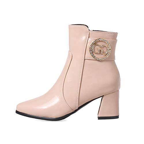 Balamasa 36 Rose 5 Compensées Femme Rose Abl11139 Sandales rCw7qpr