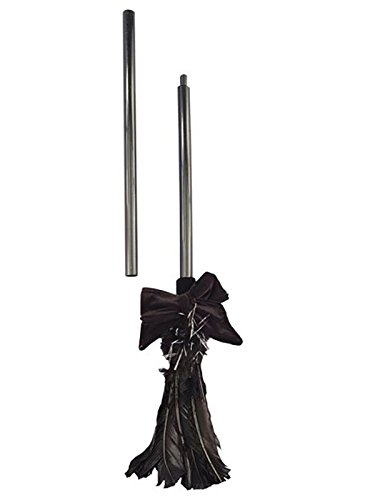 (Forum Novelties Black Feather Costume Witch Broom)