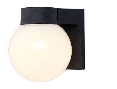 Energy Star Outdoor Black LED Wall Lantern - Energy Star Outdoor Wall Light