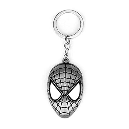 Amazon.com: NTNH12 Llavero con máscara roja de Spiderman de ...