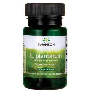 Swanson Probiotics L.Plantarum, 30 Vegetarian Capsules