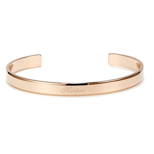 Custom Engraved Cuff Bracelet