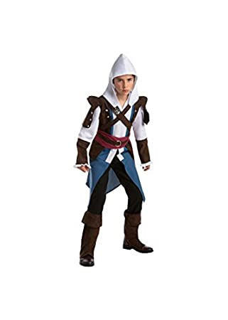 Assassin's Creed Edward Boys Teen Video Game Costume