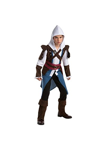 Assassin's Creed Edward Boys Teen Video Game Costume (Assassin Halloween Costumes)