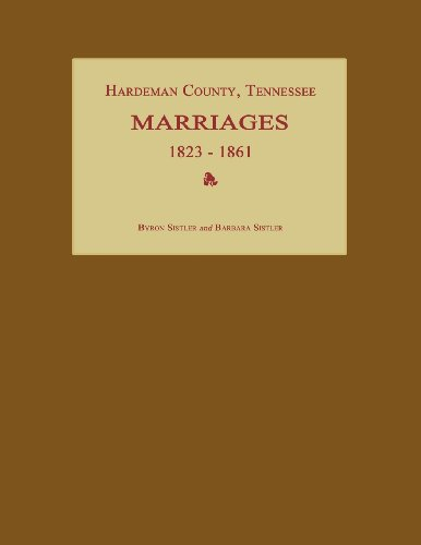 Hardeman County, Tennessee, Marriages 1823-1861
