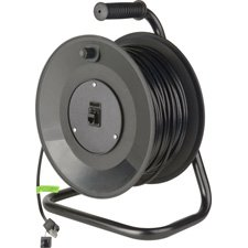 Connect-N-Go Reel Belden 7923A Cat5e with Pro Shell Connectors 250 Ft.-by-Tecnec by TecNec