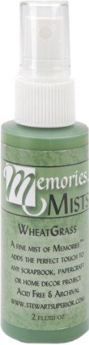 Memories Mist Spray (Memories 02-MMWG Mist Craft Ink, 2-Ounce Spray Bottle,)