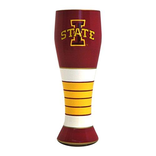 NCAA Iowa State Cyclones Artisan Pilsner Glass, 23-ounce ()
