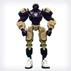 "New Orleans Saints 10"" Team Cleatus FOX Robot NFL Football Action Figure Version 2.0"