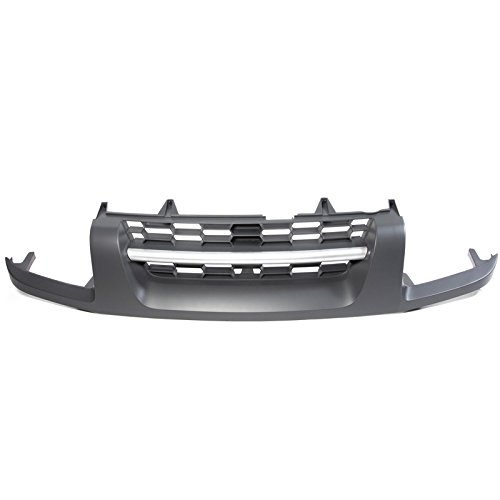 Grille Nissan Xterra 2004 (CarPartsDepot For 2002-2004 Nissan Xterra XE NI1200199 623107Z840 Replacement New Front Grille)