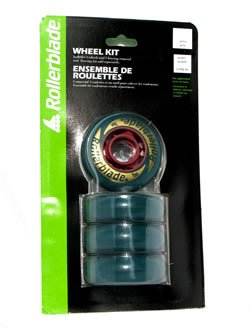 Amazon Rollerblade 70mm In Line Skate Wheels 82A No Bearings 4 PACK Sports Outdoors