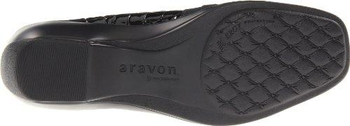 Aravon Kvinna Kasey Svart Croc